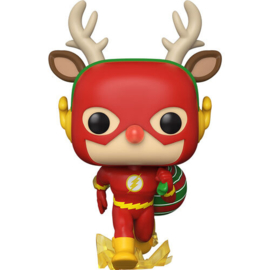 FUNKO POP figure DC Holiday Rudolph Flash (356)