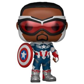 FUNO POP figure Marvel The Falcon & Winter Soldier Captain America (814)