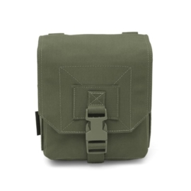 Warrior Elite Ops MOLLE 100 Rd 7.62 Box / 200 Rd 5.56 SAW / M249 Drum (OLIVE DRAB)