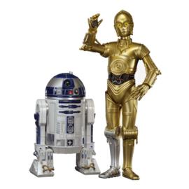 Star Wars C-3PO & R2-D2 Star Wars Statues set ArtFX+ Scale 1:10