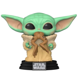 FUNKO POP figure Star Wars Mandalorian The Child with Frog (379)