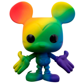 FUNKO POP figure Disney Pride Mickey Mouse Rainbow (01)
