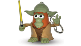 DISNEY Star Wars  Yoda Mr Potato Head keychain / ring