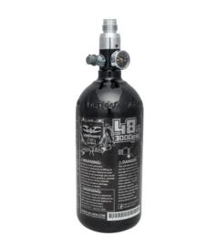 VALKEN Aluminium Air Tank 48cu 3000psi (200 Bar) w/regulator (BLACK)