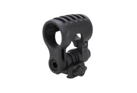 ELEMENT Adjustable 22mm RIS rail flashlight mount (BLACK)