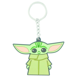 Star Wars The Mandalorian The Child rubber keychain