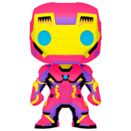 FUNKO POP figure Marvel Black Light Iron Man (649)