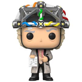 FUNKO POP figure Back To The Future Doc with Helmet (959)