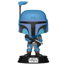 FUNKO POP figure Star Wars Mandalorian Death Watch Mandalorian Two Stripes - Exclusive (354)