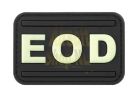 JTG EOD Rubber Patch (GLOW IN THE DARK)