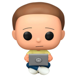FUNKO POP figure Rick and Morty - Morty with Laptop - Exclusive (742)