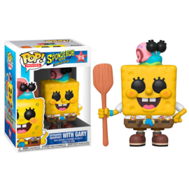 FUNKO POP figure Sponge Bob SpongeBob in Camping Gear (916)