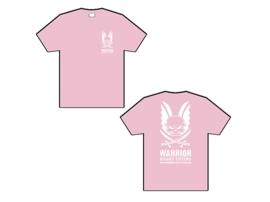 Warrior Ladies T-Shirt (PALE PINK)