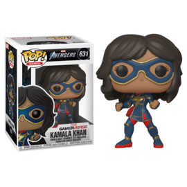 FUNKO POP figure Marvel Avengers Game Kamala Khan Stark Tech Suit (631)