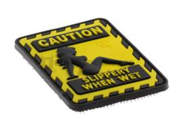 JTG Slippery when Wet Rubber Patch