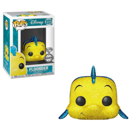 FUNKO POP figure Disney The Little Mermaid Flounder Glitter - Exclusive (237)