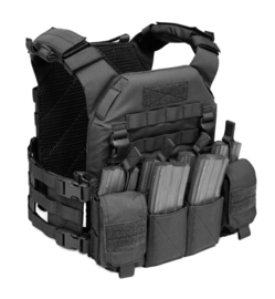 Warrior Elite Ops MOLLE (RPC) Recon Plate Carrier SAPI  with Pathfinder Chest Rig Combo (MEDIUM) (4 COLORS)
