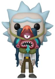 FUNKO POP Rick and Morty Rick with Glorzo (956)