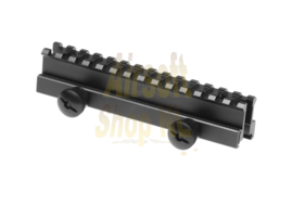 "LEAPERS UTG 1"" High 13-slot Low-profile Full Size Riser Mount (HIGH)"
