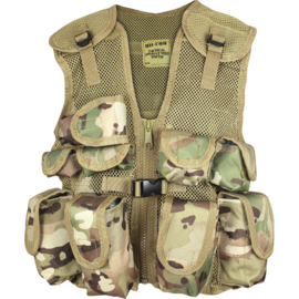 MIL-COM Kids Assault Vest (MULTI-CAMO)