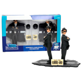 Blues Brothers Jake and Elwood pack 2 figures - 18cm