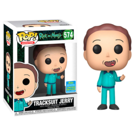 FUNKO POP figure Rick & Morty Tracksuit Jerry - Exclusive SDCC (574)