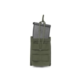 Warrior Elite Ops MOLLE Single Open G36 Mag / Bungee Retention 1 Mag (OLIVE DRAB)
