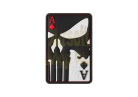 JTG Punisher Ace of Spades Rubber Patch