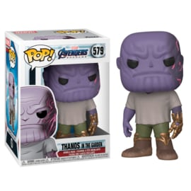 FUNKO POP figure Marvel Avengers Endgame Casual Thanos with Gauntlet (579)