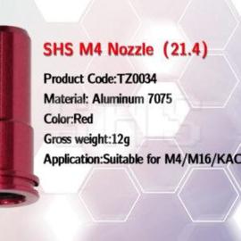 SHS Aluminium Seal Nozzle for M4 AEG.