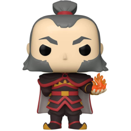 FUNKO POP figure Avatar Admiral Zhao with Fireball - Exclusive - *Glows in the Dark* (1001)