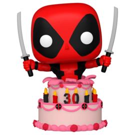FUNKO POP figure Marvel Deadpool 30th Deadpool in Cake (776)
