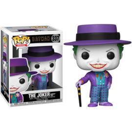 FUNKO POP figure DC Comics Batman 1989 Joker with Hat (337)