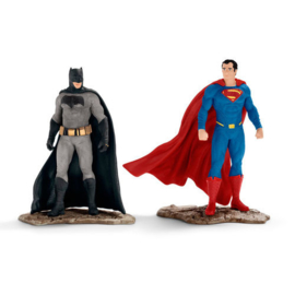 Batman vs Superman figures DC Comics 10cm
