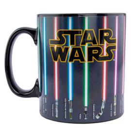 Star Wars Laser Swords XL thermal mug