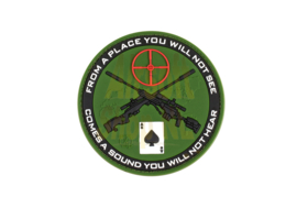 JTG Sniper Rubber Patch - Forest