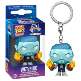 FUNKO Pocket POP keychain Space Jam 2 Wet Fire