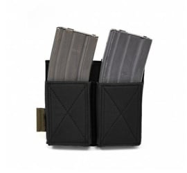Warrior Elite Ops MOLLE Double Elastic Mag (BLACK)