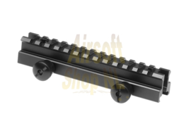 "LEAPERS UTG 0.83"" High 13-slot Low-profile Full Size Riser Mount (MEDIUM)"