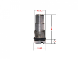 PPS Reinforced Inlet Valve. Small Cap.