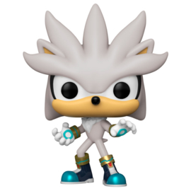 FUNKO POP figure Sonic 30th Anniversary Silver the Hedgehog (633)