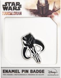 Star Wars The Mandalorian Logo Black Smith ENAMEL pin badge