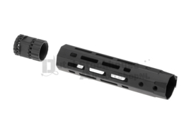 Ares 201mm M-LOK Handguard Set Black