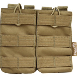 VIPER Quick Release Double Mag Pouch (COYOTE)