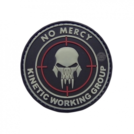 5-Star PVC MORALE PATCH - NO MERCY
