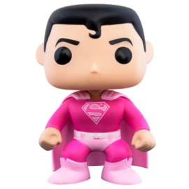FUNKO POP figure Breast Cancer Awareness Superman (349)