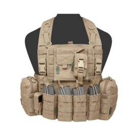 Warrior Elite Ops MOLLE 901 ELITE M4 with 2 Utility, Admin, Compass, Single Pistol, 4 x M4 Open Mags, with zip (3 COLORS)