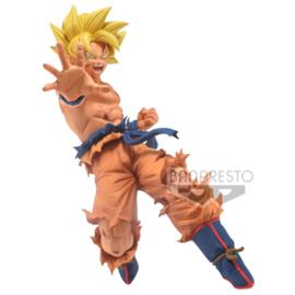 BANPRESTO Dragon Ball Super Drawn by Toyotaro Father Son Kamehameha Son Goku figure - 16cm