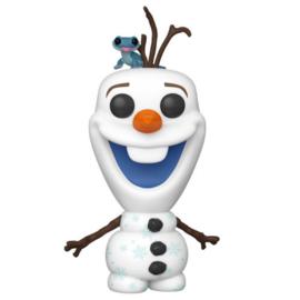 FUNKO POP figure Disney Frozen 2 Olaf with Bruni (733)