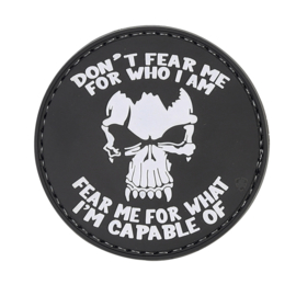5-Star PVC MORALE PATCH - DON'T FEAR ME